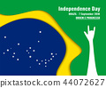 Vector illustration for Brazil independence day 44072627