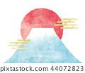 富士山 日出 太陽系 44072823