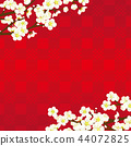ume, japanese apricot flower, an ume flower 44072825