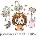 智能手机 购物 女生 44073857