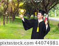Happy man portrait dreams graduation Graduate 44074981