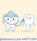 tooth with dental concept 44075164