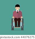 wheelchair chair man 44076275