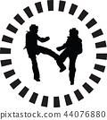 taekwondo woman 44076880