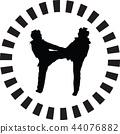 taekwondo woman 44076882