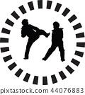 taekwondo woman 44076883