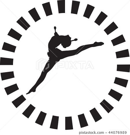rhythmic gymnastics 44076989