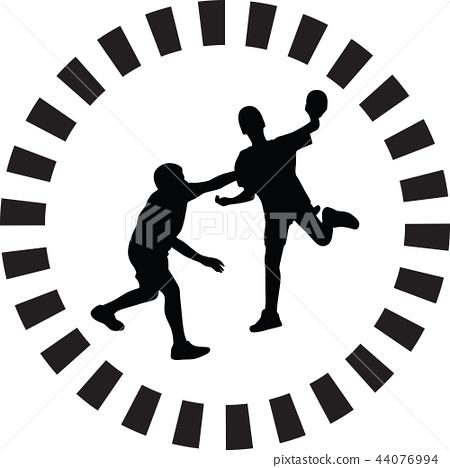 handball player 44076994