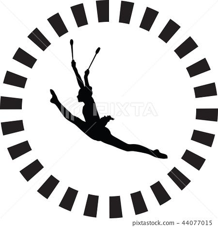 rhythmic gymnastics 44077015