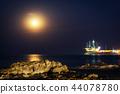 Moonrise over Jeongdongjin 44078780
