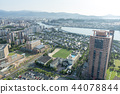 the view of fukuoka from tower 44078844