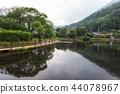 kinrin lake morning reflections 44078967