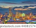 Yokohama, Japan City Skyline 44081574
