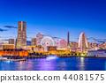 Yokohama, Japan Skyline 44081575