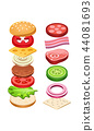 burger, food, ingredient 44081693