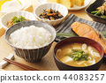Japanese breakfast 44083257