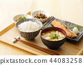 Japanese breakfast 44083258