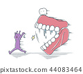 牙齿 齿轮 假牙 44083464
