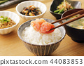 roe of a fish from family gadidae, japanese food, japanese cuisine 44083853