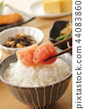 roe of a fish from family gadidae, japanese food, japanese cuisine 44083860