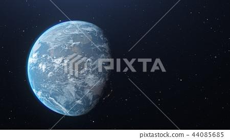 地球儀 土地 土 44085685