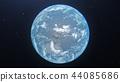 地球儀 土地 土 44085686
