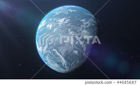 地球儀 土地 土 44085687