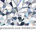 Low Poly design,Diamond Abstract Background 44086294