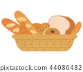 Assorted bread 44086482