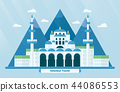 Turkey landmarks for travelling with Hagia Sophia 44086553