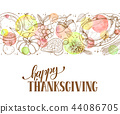 thanksgiving, happy, poster 44086705