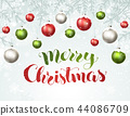 merry christmas greeting card 44086709