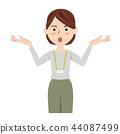 商業休閒 事業女性 商務女性 44087499