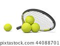 racquet tennis ball 44088701