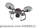 Drone (with camera · transparent material) 44089612