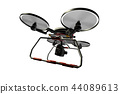 Drone (with camera · transparent material) 44089613