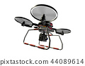 Drone (with camera · transparent material) 44089614