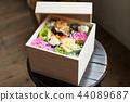 paulownia wood box, box, preserved flower 44089687