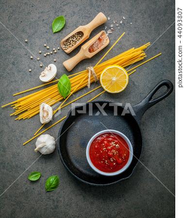 Italian food and menu concept.  44093807