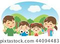 家庭野餐 44094483