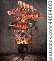 fire, flames, chicken 44094663