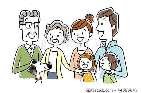 Smiling family 44096047