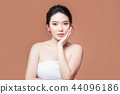 beauty woman asia and have white skin charm  44096186