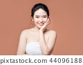beauty woman asia and have white skin charm  44096188