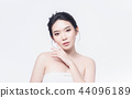 beauty woman asia and have white skin charm  44096189