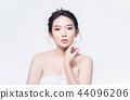 beauty woman asia and have white skin charm  44096206