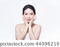beauty woman asia and have white skin charm  44096210