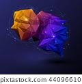 Vector design network communication technology 44096610