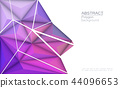 Vector Geometric for wallpaper or background 44096653
