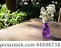 flower vase on table 44096738